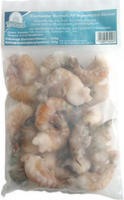 Sea Castle Freshwater Shrimps 6/8, roh, ohne Kopf, mit Schale, easy peel, gefroren, jeder 1000-g-Beutel / 800-g Abtropfgewicht