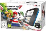 Nintendo New 3DS / 2DS Konsolen - NINTENDO 2DS Schwarz/Blau inkl. Mario Kart 7