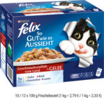 felix Multipack 10 / 12 x 100 g Frischebeutel