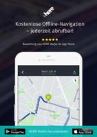 Kostenlose Offline-Navigation - jederzeit abrufbar!