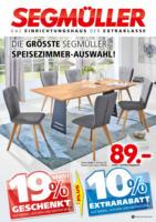 Die größte Segmüller-Speisezimmer-Auswahl!