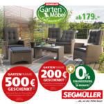 Gartenmöbel bei Segmüller