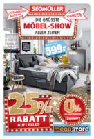 Möbel-Show im megastore