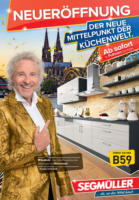 Segmüller: Der neue Mittelpunkt der Küchenwelt.