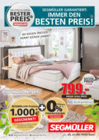 Segmüller: Deutschlands bester Preis!
