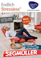 Segmüller: Endlich Stressless!