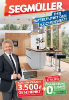 Segmüller: Ihr Mittelpunkt der Küchenwelt!