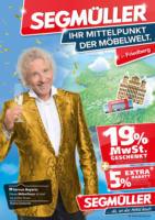 Segmüller: Ihr Mittelpunkt der Möbelwelt!