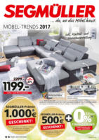 Segmüller: Möbel-Trends 2017