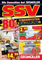 Sensationeller SSV bei Segmüller